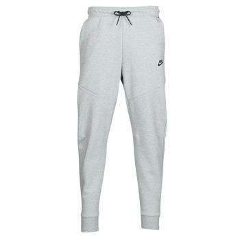 tekstylia Męskie Spodnie dresowe Nike M NSW TCH FLC JGGR Szary