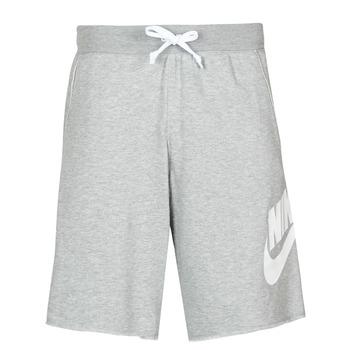 tekstylia Męskie Szorty i Bermudy Nike M NSW SCE SHORT FT ALUMNI Szary