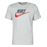 tekstylia Męskie T-shirty z krótkim rękawem Nike M NSW TEE BRAND MARK Szary