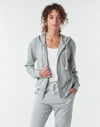 tekstylia Damskie Bluzy Nike W NSW GYM VNTG HOODIE FZ Szary