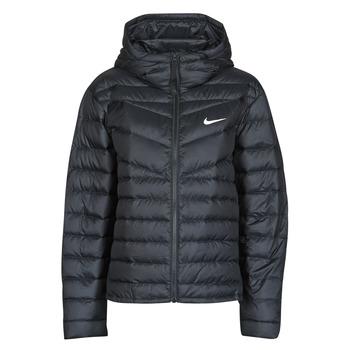 tekstylia Damskie Kurtki pikowane Nike W NSW WR LT WT DWN JKT Czarny