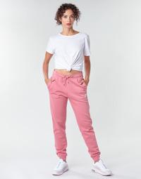 tekstylia Damskie Spodnie dresowe Nike W NSW ESSNTL PANT REG FLC Różowy