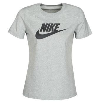 tekstylia Damskie T-shirty z krótkim rękawem Nike W NSW TEE ESSNTL ICON FUTUR Szary
