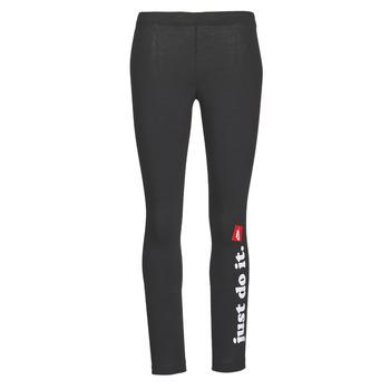 tekstylia Damskie Legginsy Nike W NSW LGGNG CLUB Czarny