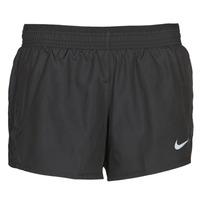 tekstylia Damskie Szorty i Bermudy Nike W NK 10K SHORT Czarny
