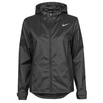 tekstylia Damskie Kurtki wiatrówki Nike W NK ESSENTIAL JACKET Czarny