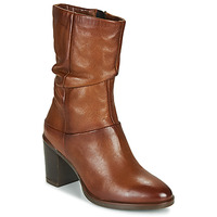 Buty Damskie Kozaki Dream in Green NORGE Camel
