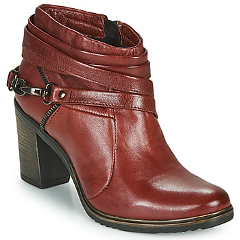 Buty Damskie Low boots Dream in Green NEGUS Bordeaux
