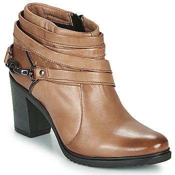 Buty Damskie Low boots Dream in Green NEGUS Brązowy
