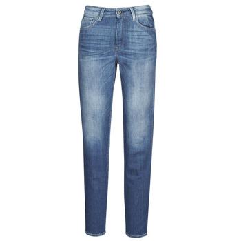 tekstylia Damskie Jeansy straight leg G-Star Raw 3301 HIGH STRAIGHT 90'S ANKLE WMN Cobalt