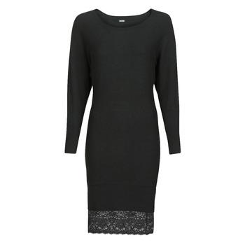 tekstylia Damskie Sukienki krótkie Guess CELINE Czarny