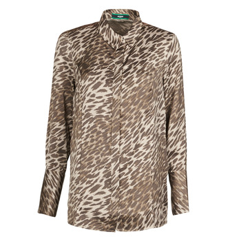 tekstylia Damskie Topy / Bluzki Guess VIVIAN Leopard