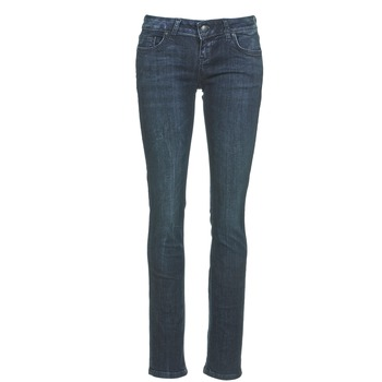 tekstylia Damskie Jeansy straight leg LTB ASPEN Niebieski / Fonce