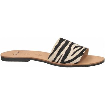 Buty Damskie Klapki Ria HORMA zebra