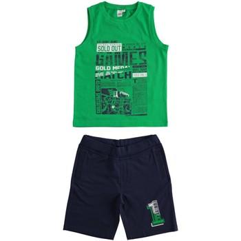 tekstylia Chłopiec Komplet Ido 4J019 Zielony