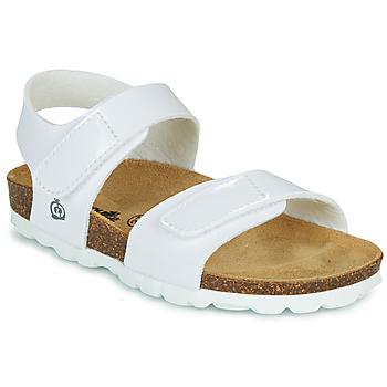 Buty Dziewczynka Sandały Citrouille et Compagnie BELLI JOE Biały