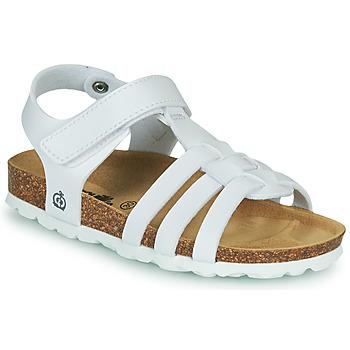 Buty Dziewczynka Sandały Citrouille et Compagnie JANISOL Biały