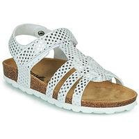 Buty Dziewczynka Sandały Citrouille et Compagnie MALIA Biały