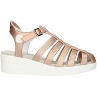 Buty Damskie Sandały Agile By Ruco Line 210ASATSLIDE Różowy