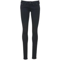 tekstylia Damskie Jeansy slim fit Tommy Jeans SOPHIE Niebieski / Fonce