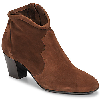 Buty Damskie Botki Betty London NORIANE Camel / Velours