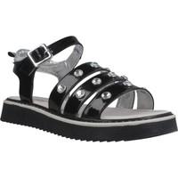Buty Dziewczynka Sandały Asso AG6703 Czarny