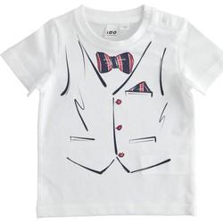 tekstylia Chłopiec T-shirty z krótkim rękawem Ido 4J692 Biały