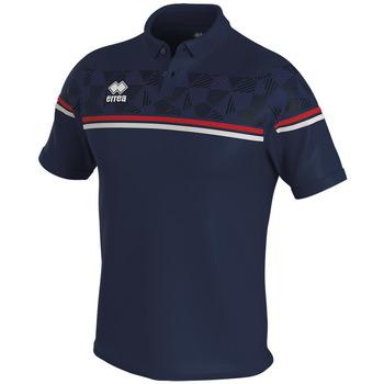 tekstylia Koszulki polo z krótkim rękawem Errea Polo  dominic bleu/marine/blanc