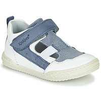 Buty Chłopiec Sandały Kickers JASON Biały / Niebieski