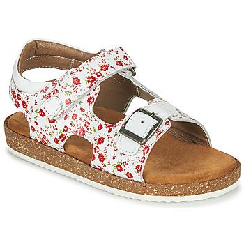 Buty Dziewczynka Sandały Kickers FUNKYO Biały