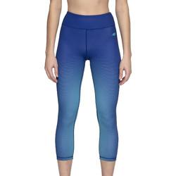 tekstylia Damskie Legginsy 4F Women's Functional Trousers H4L20-SPDF008-91A Niebieskie