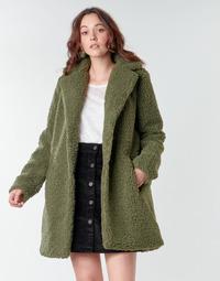tekstylia Damskie Płaszcze Noisy May NMGABI Kaki