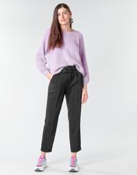 tekstylia Damskie Spodnie z pięcioma kieszeniami Betty London NOXE Czarny
