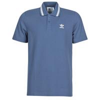 tekstylia Męskie Koszulki polo z krótkim rękawem adidas Originals PIQUE POLO Niebieski