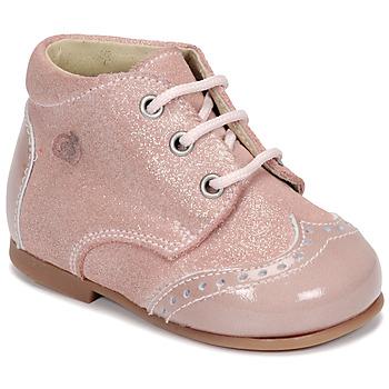 Buty Dziewczynka Buty za kostkę Citrouille et Compagnie NONUP Różowy