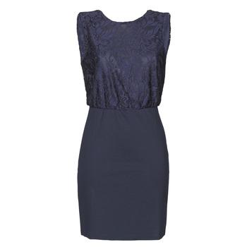 tekstylia Damskie Sukienki długie Vero Moda VMBIANCA Marine