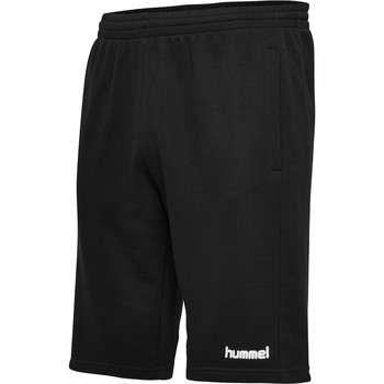 tekstylia Męskie Szorty i Bermudy Hummel Short  hmlGO cotton noir