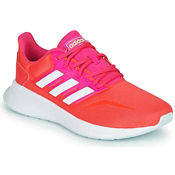 Buty Damskie Bieganie / trail adidas Performance RUNFALCON Czerwony / Różowy