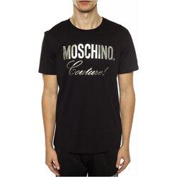 tekstylia Męskie T-shirty z krótkim rękawem Moschino ZPA0715 Czarny