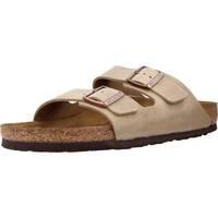 Buty Męskie Sandały Birkenstock Arizona NU Oiled Brązowy