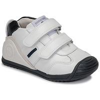 Buty Chłopiec Trampki niskie Biomecanics BIOGATEO SPORT Biały