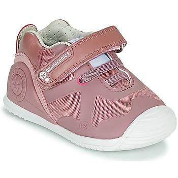 Buty Dziewczynka Trampki niskie Biomecanics ZAPATO ELASTICO Różowy