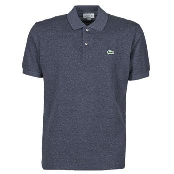 tekstylia Męskie Koszulki polo z krótkim rękawem Lacoste POLO L12 12 CLASSIQUE Niebieski