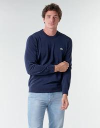 tekstylia Męskie Swetry Lacoste AH1985 Marine