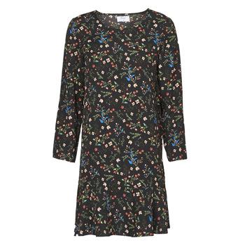 tekstylia Damskie Sukienki krótkie Betty London NELLY Czarny / Wielokolorowy