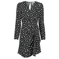 tekstylia Damskie Sukienki krótkie Betty London NOELINE Czarny / Biały