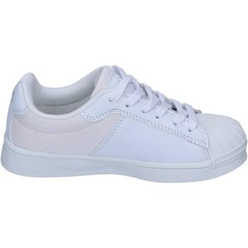 Buty Chłopiec Trampki Beverly Hills Polo Club sneakers tessuto pelle sintetica Bianco