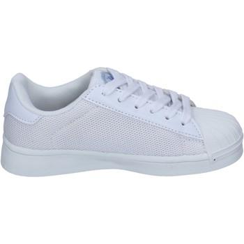 Buty Chłopiec Trampki Beverly Hills Polo Club sneakers tessuto Bianco