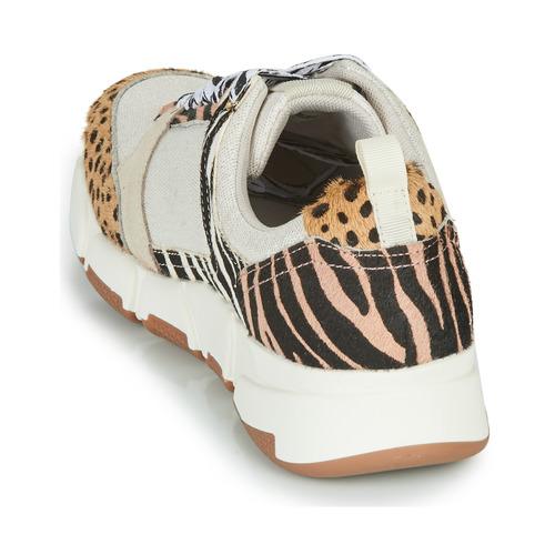 Gioseppo Creazzo Leopard - Bezpłatna Dostawa- Buty Trampki Niskie Damskie 36900 Najniższa Cena