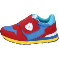 Buty Chłopiec Trampki Beverly Hills Polo Club sneakers camoscio sintetico tessuto Rosso